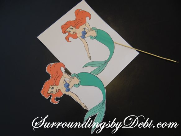 Ariel Birthday Party Pick