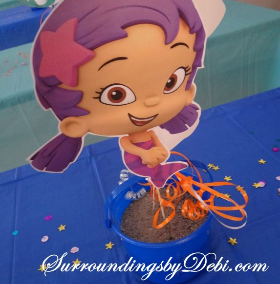 Bubble Guppie BIrthday Party Bucket