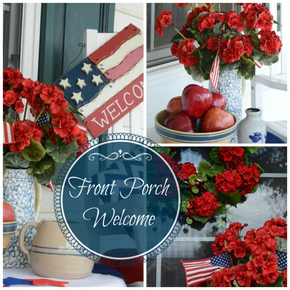 Front Porch Welcome Collage