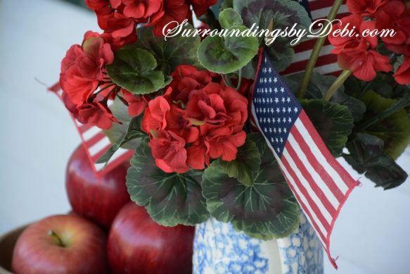 Geraniums-and-Flags