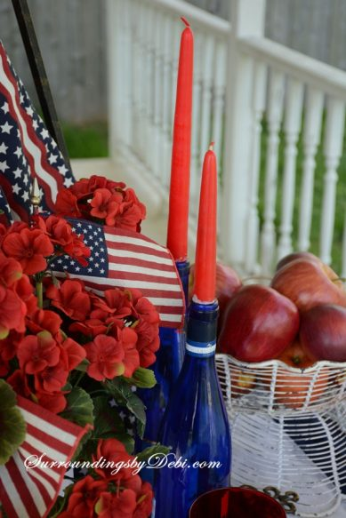 Patriotic-Porch-Table