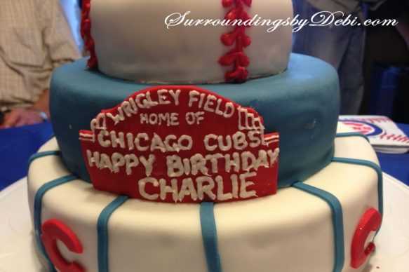 Cubs Birthday Party Cake
