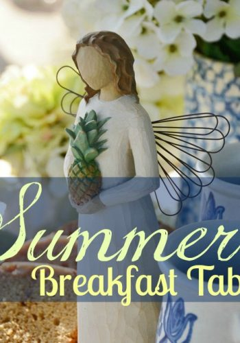 Breakfast Table on the Porch – Enjoying a Sunny Morning