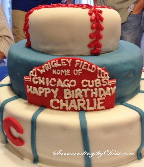 Cubs Birthday Party -Cake