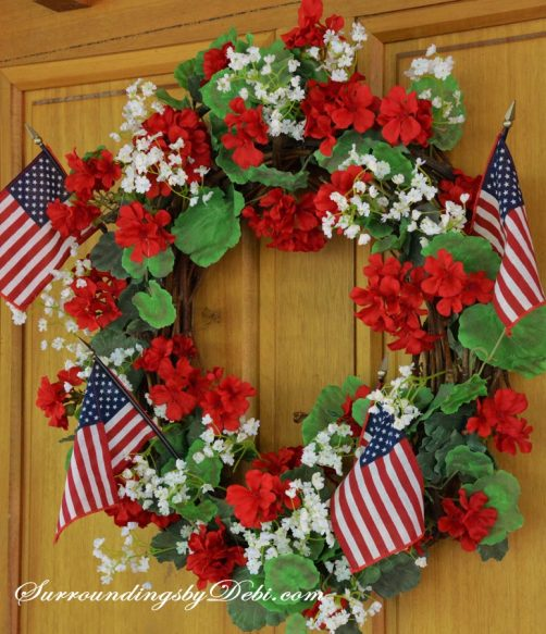 Geranium-Wreath-Welcome