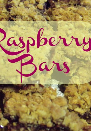 Raspberry Bars – Rich and Delicious