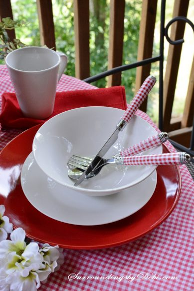 Red-Gingham-Placesetting