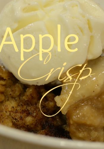 Delicious Apple Crisp From Grandma's Cook Book