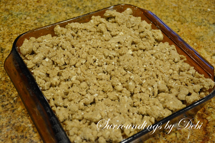 Apple Crisp with Topping