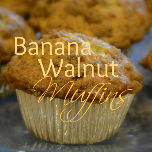 Banana Walnut Muffin Overlay