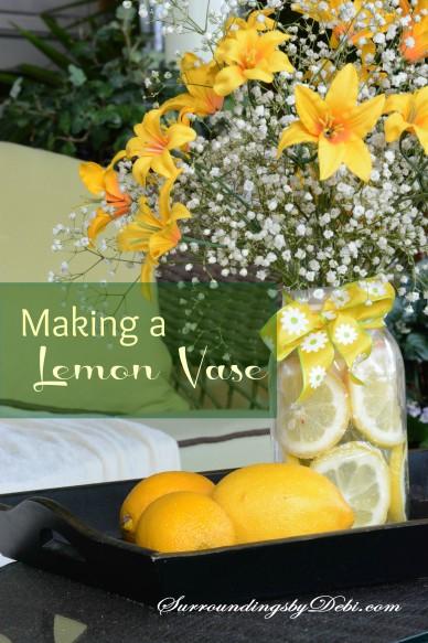 Lemon Vase Photo