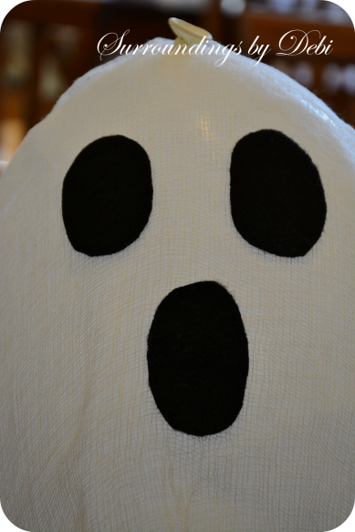 Adding Eyes to the Hanging Ghost