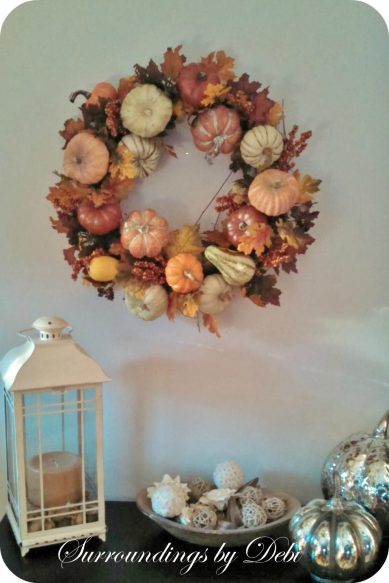 Amy's Wreath at Home