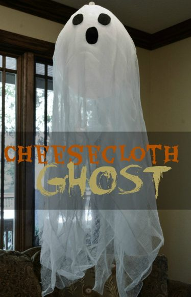 Cheesecloth Hanging Ghosts