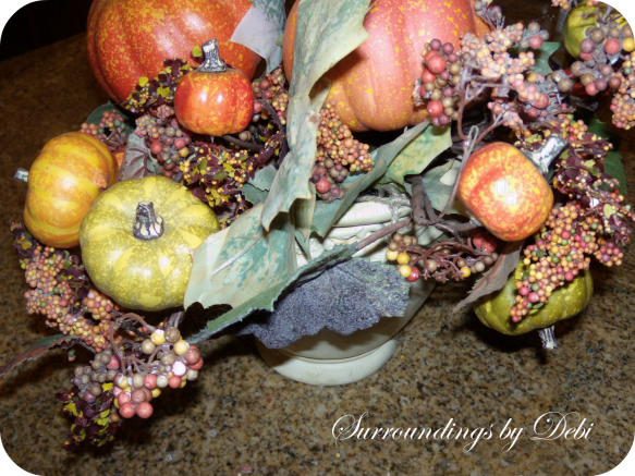 Fall Faux Arrangement Beginnings