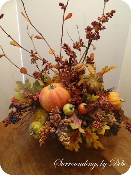 Fall Faux Arrangement Remake