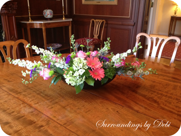 Family Dining Room Floral