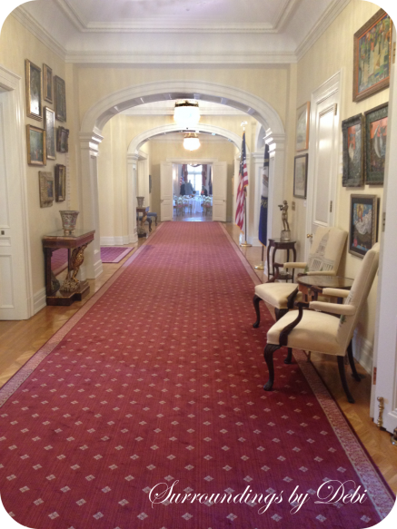 Governors Mansion Hallway