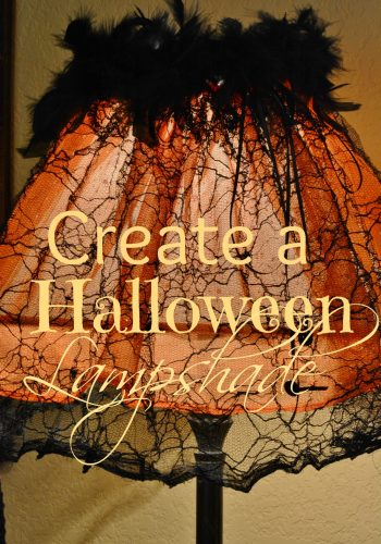Create a Whimsical Halloween Lampshade!