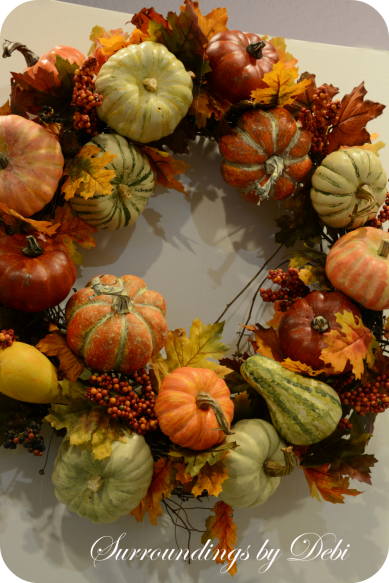 Harvest Pumpkin Wreath Recreate