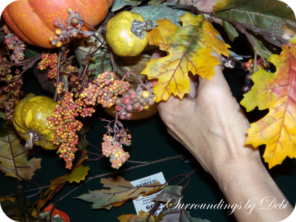 Inserting Leaves - Update Your Silk Arrangement