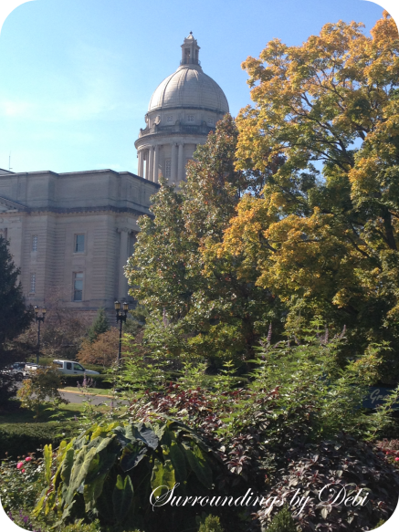 Kentucky Capitol in the Fall