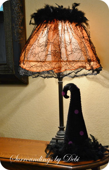 Large Halloween Lampshade