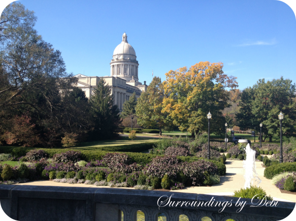 View of the Capitol from the Governor's Mansion