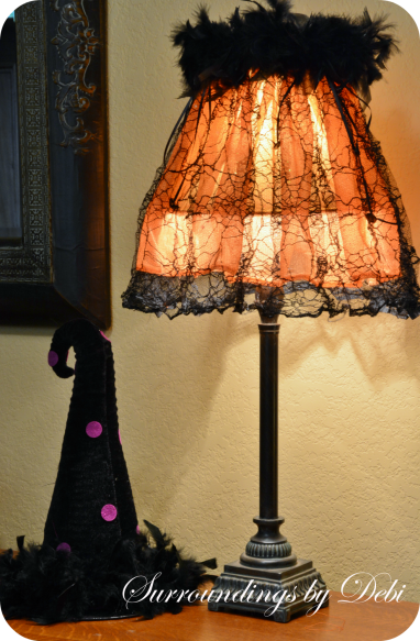 Whimsical Halloween Lampshade