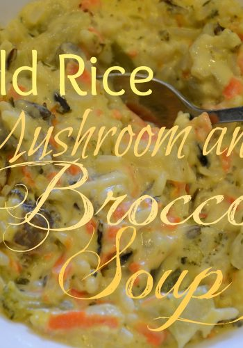 Wild Rice, Mushroom and Broccoli Soup – Another Friday Food Favorite