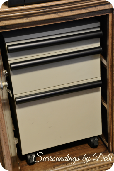 File Cabinet Inserted
