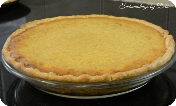 Finished Sweet Potato Pie