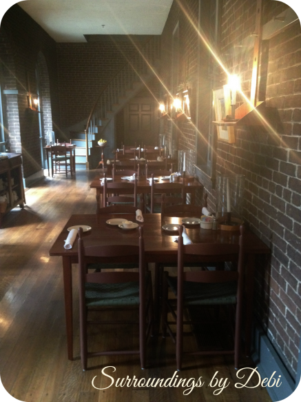 Shaker Village Dining Room