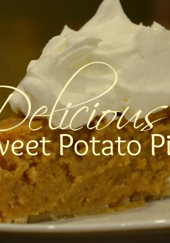 Sweet Potato Pie – A Holiday Favorite!