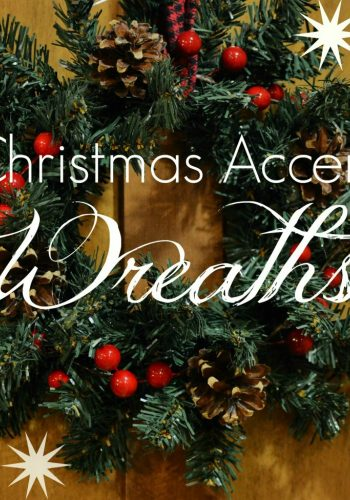 Decorating with Christmas Accent Wreaths