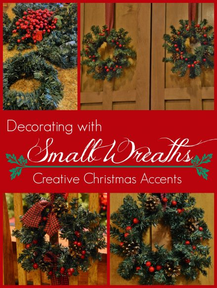 Decoratind with Small Wreaths