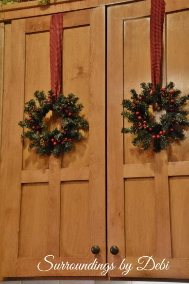 Christmas Accent Wreaths Double Doors