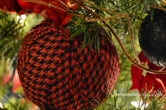 Fabric Christmas Ornament
