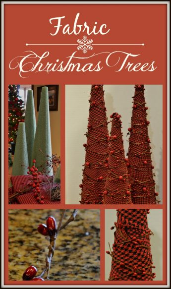 Fabric Christmas Trees Layout