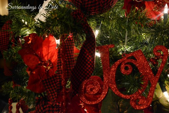 Tree in Red and Black 2