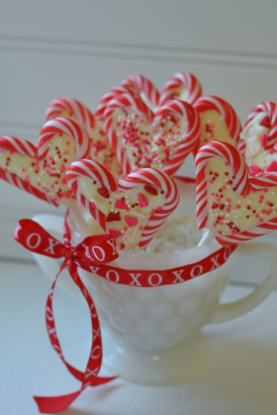 Peppermint Valentine Treats