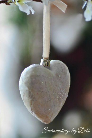 Hanging Valentine Ornament