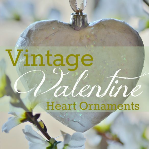 Vintag Valentine Heart Ornaments Picture (1024x1024)