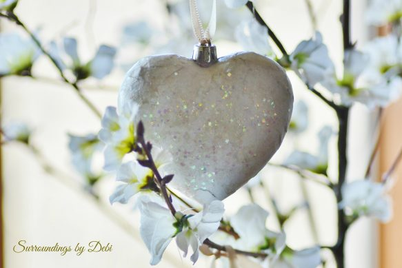 Vintage Heart Ornaments