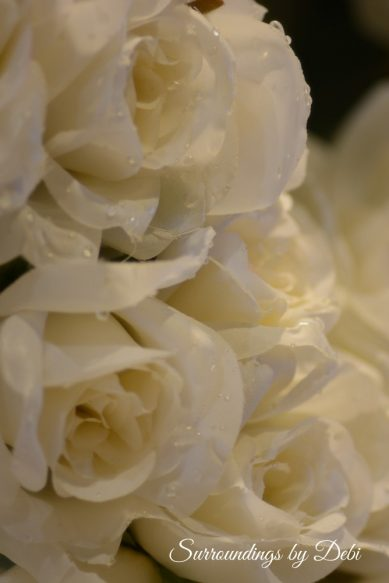 White Roses for Wreath Desire