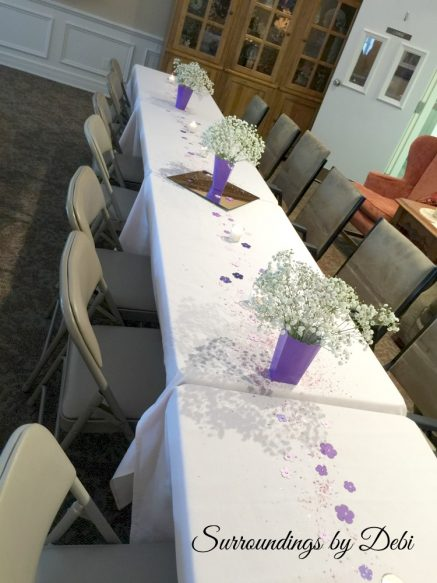 100th Birthday Table Decor