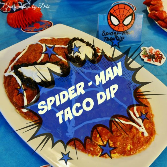 Spideran Taco Dip Overlay Picture