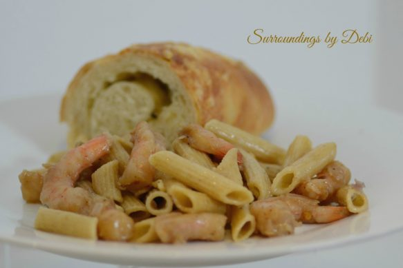 Easy Peasy Shrimp Pasta Overview