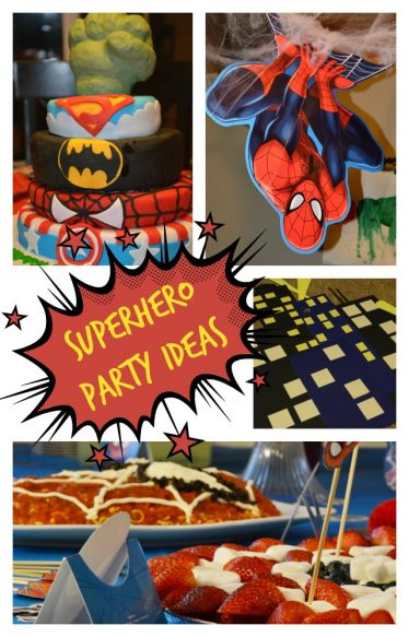 Superhero Party Ideas for Pinterest