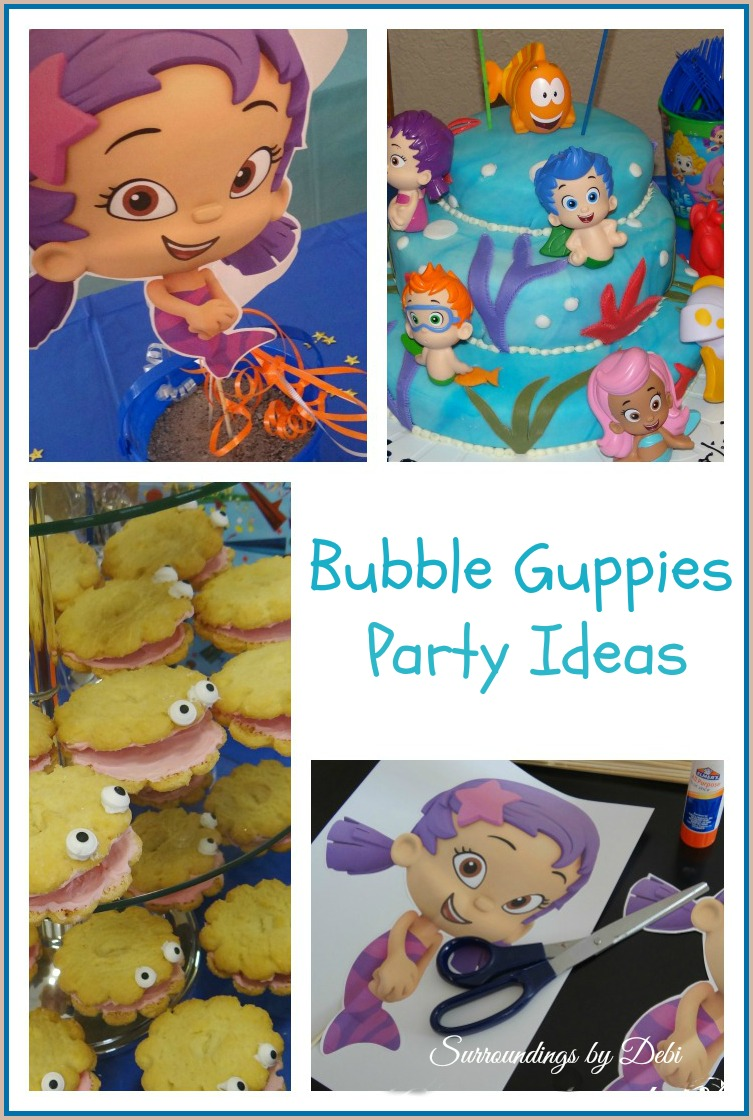 Bubble guppies ariel birthday party lets celebrate - Bubulles guppies ...